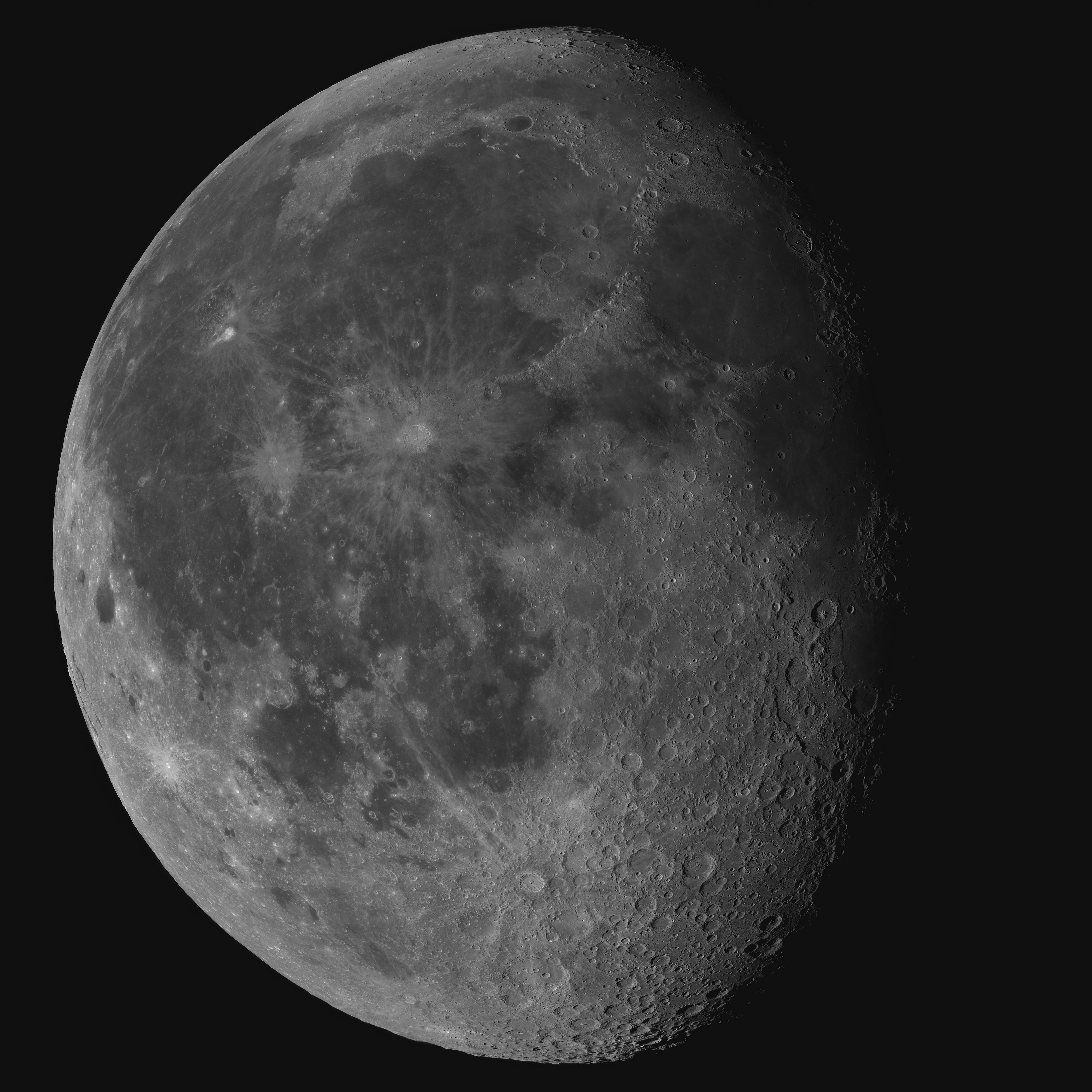 Moon – Bart Delsaert – Astrophotography