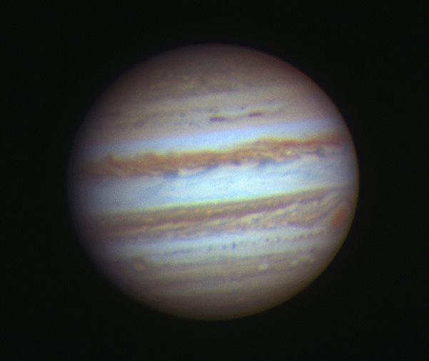 Jupiter and the Moon – Bart Delsaert – Astrophotography
